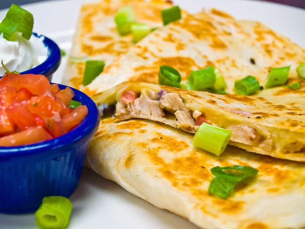receta de quesadilla mexicana