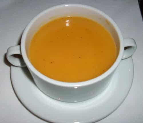 sopa de corvina