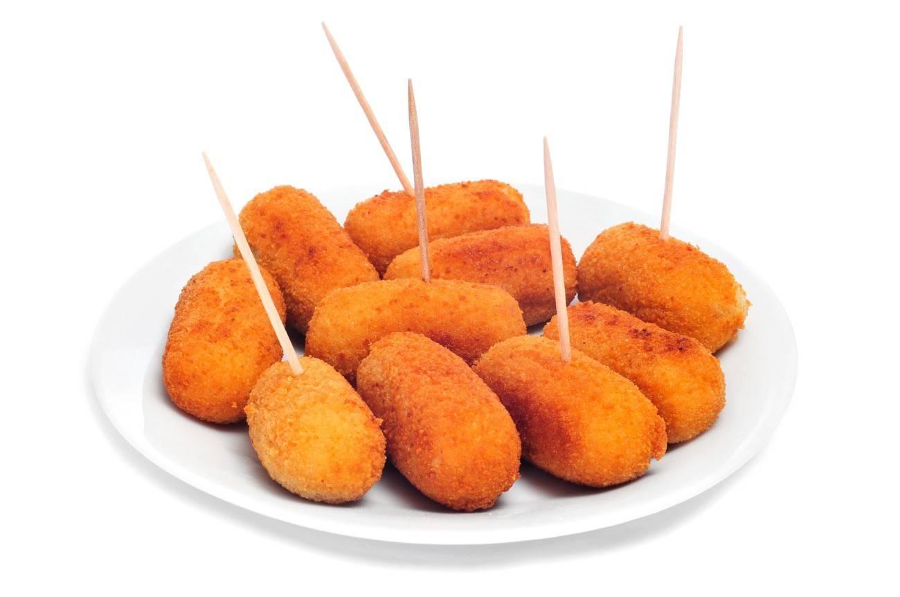 tapas españolas - croquetas vegetarianas