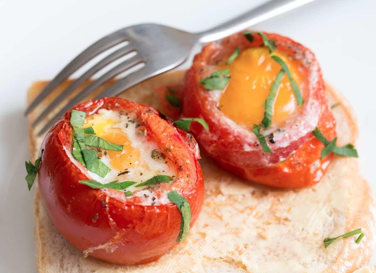 tomates rellenos huevos