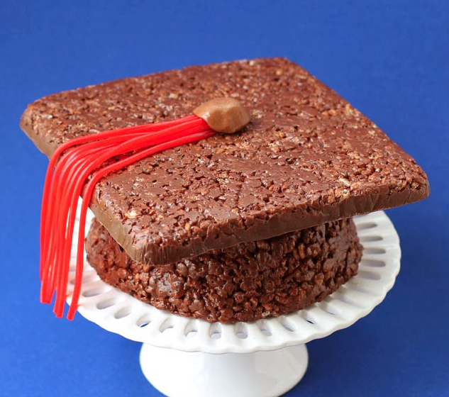 receta tarta de graduación