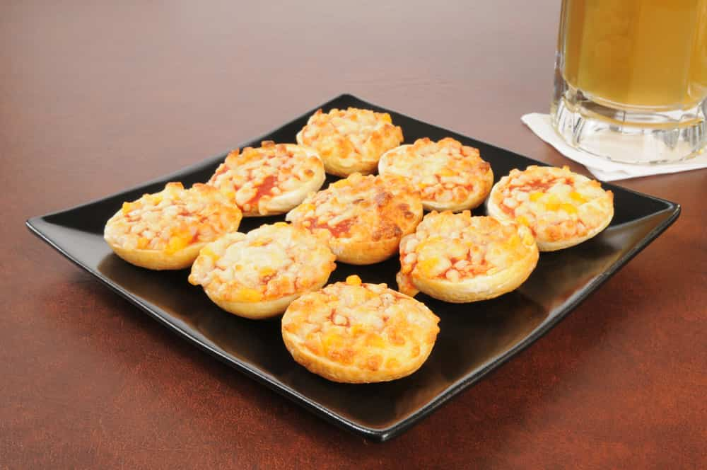 receta de mini pizza