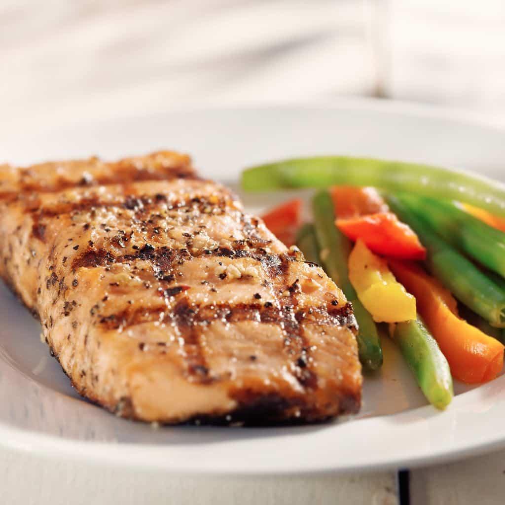 salmon caramelizado