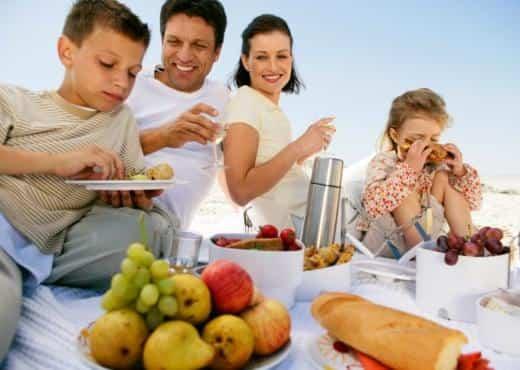 Recomendaciones dietéticas para las vacaciones
