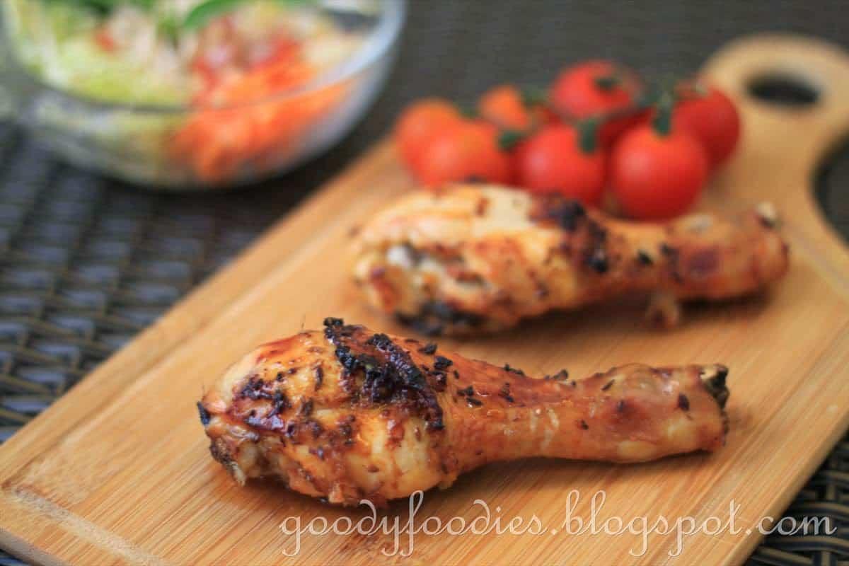 muslos de pollo horno