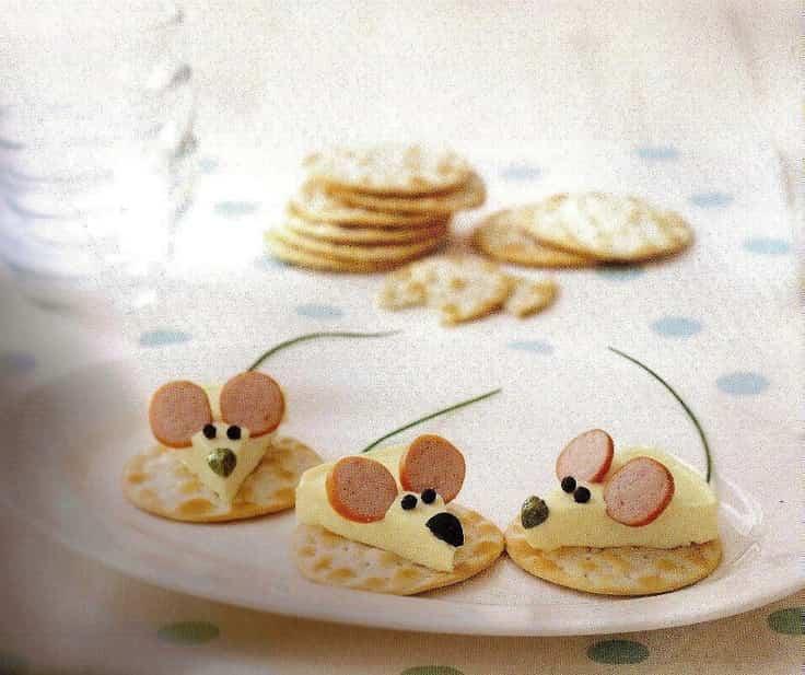 ratones de queso
