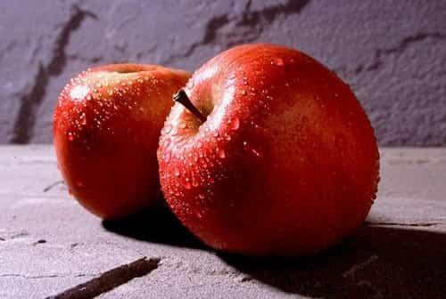 manzanas rellenas
