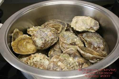 consomé de ostras