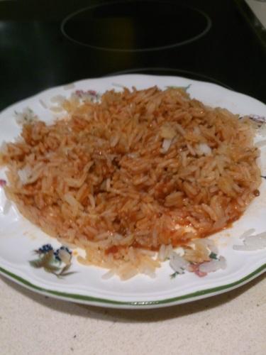 arroz a la boloñesa