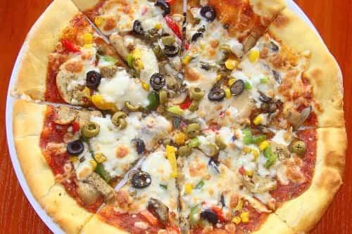 receta de pizza de salchicha