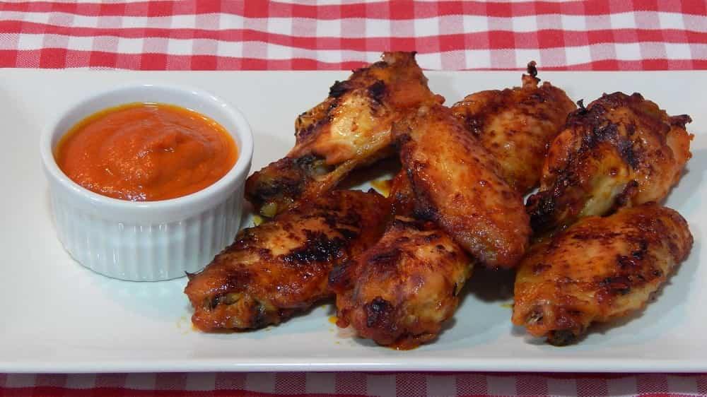 Receta de alitas de pollo con salsa de barbacoa for Salsa barbacoa ingredientes