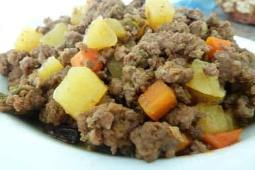 carne molida con patatas