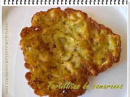 tortillita de camarones