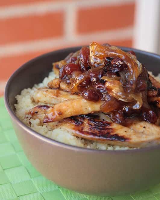 pollo con cuscus