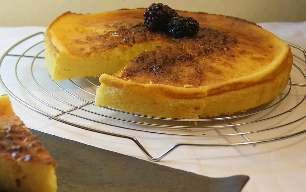 Receta de tarta de queso mascarpone al horno