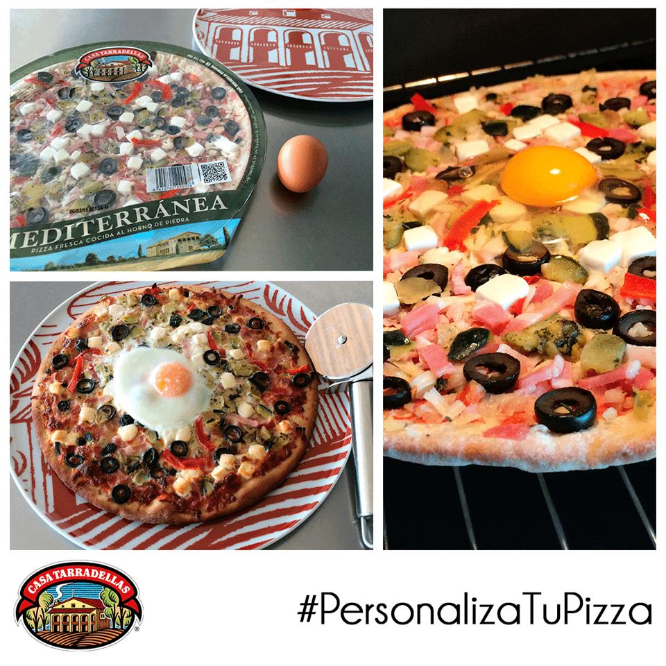 pizza casa tarradellas personalizada