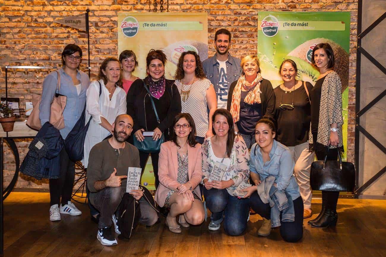 Bloggers asistentes al evento de Zespri