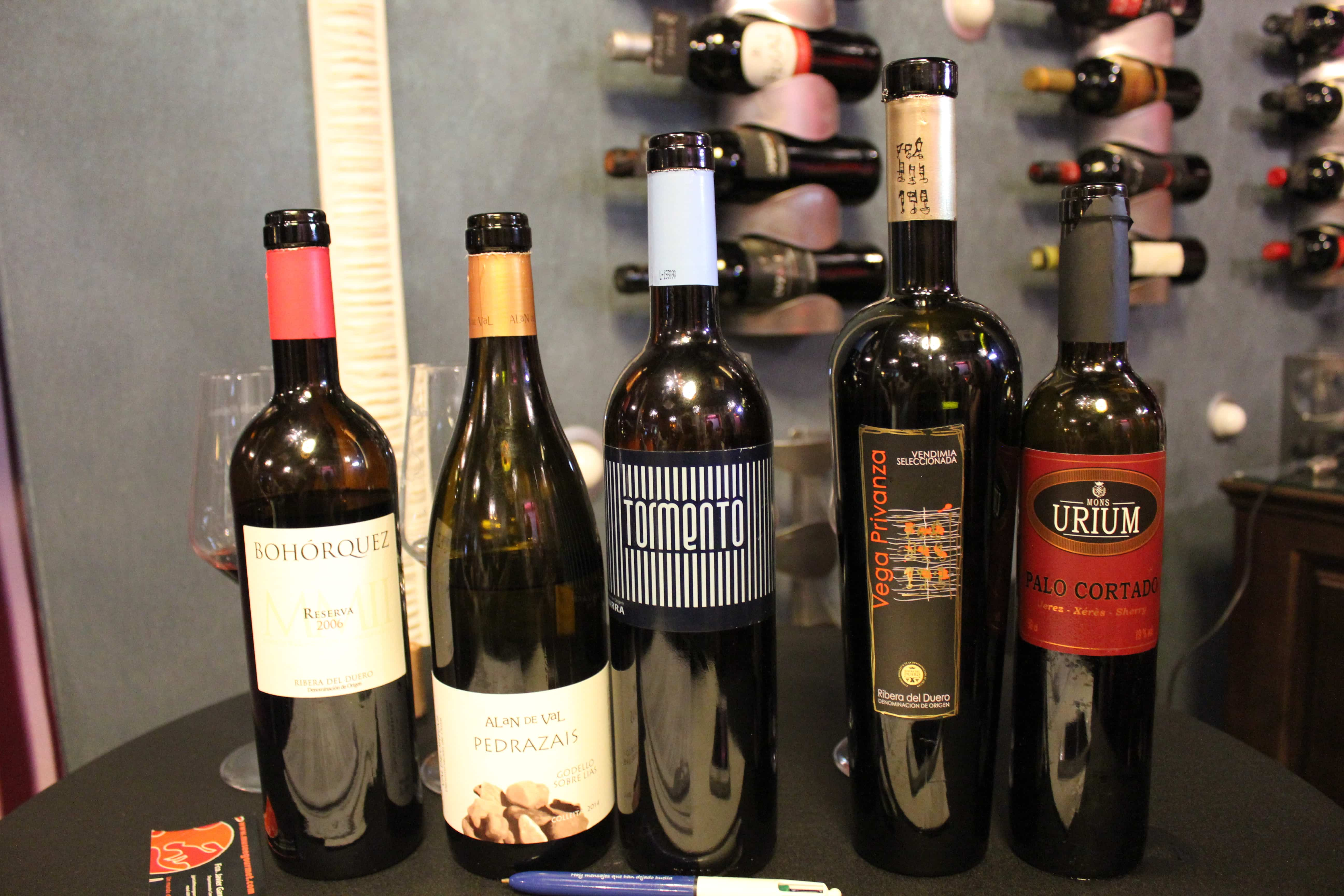 cata de vinos xeladavid madrid