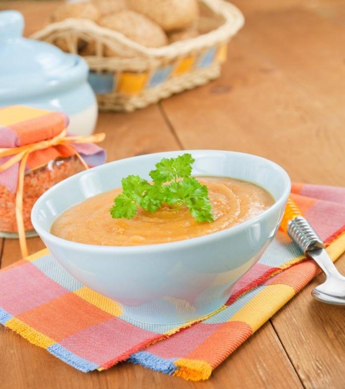 recetas gourmet con sobras crema de lentejas con foie