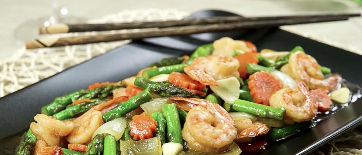 Genial como cocinar esparragos trigueros im genes la - Comidas con esparragos ...