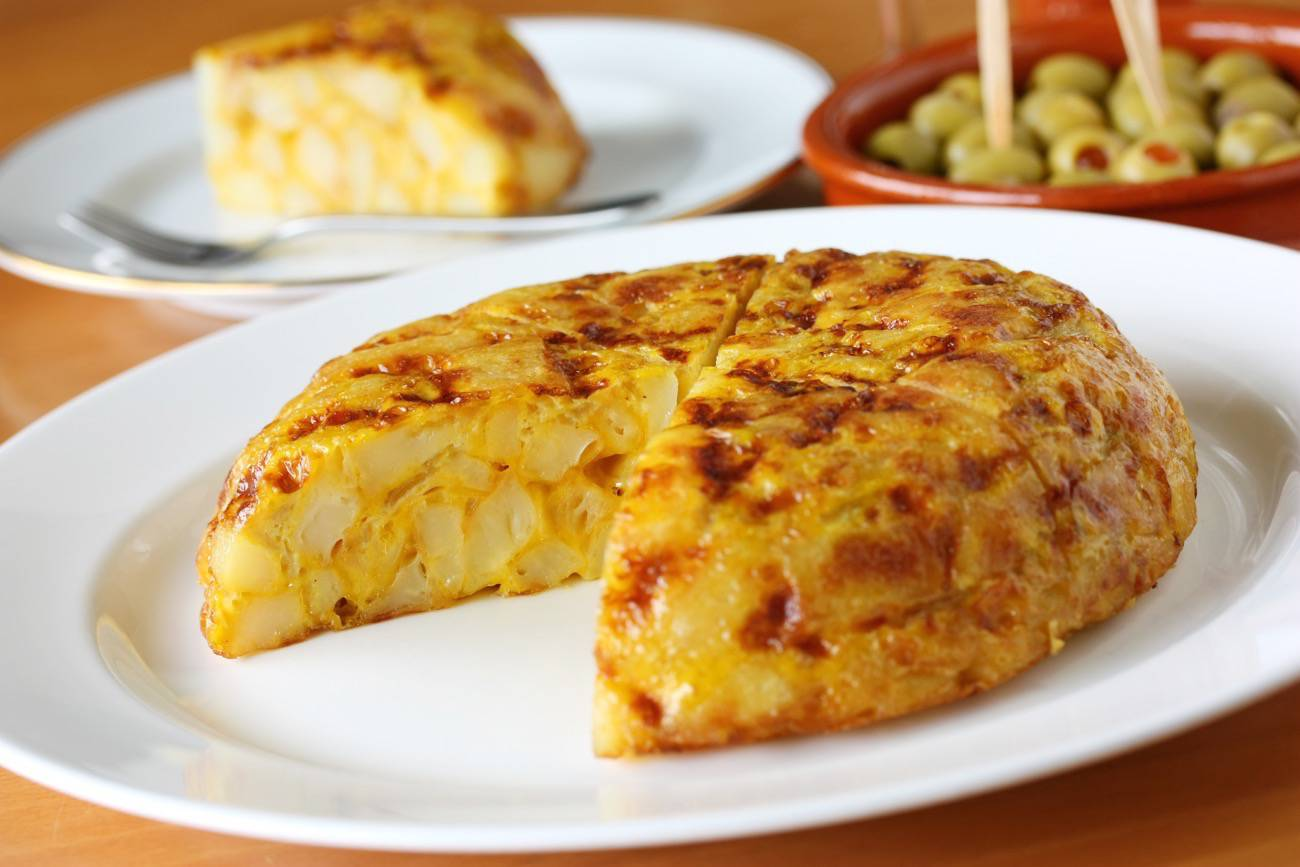 tapas españolas - tortilla española