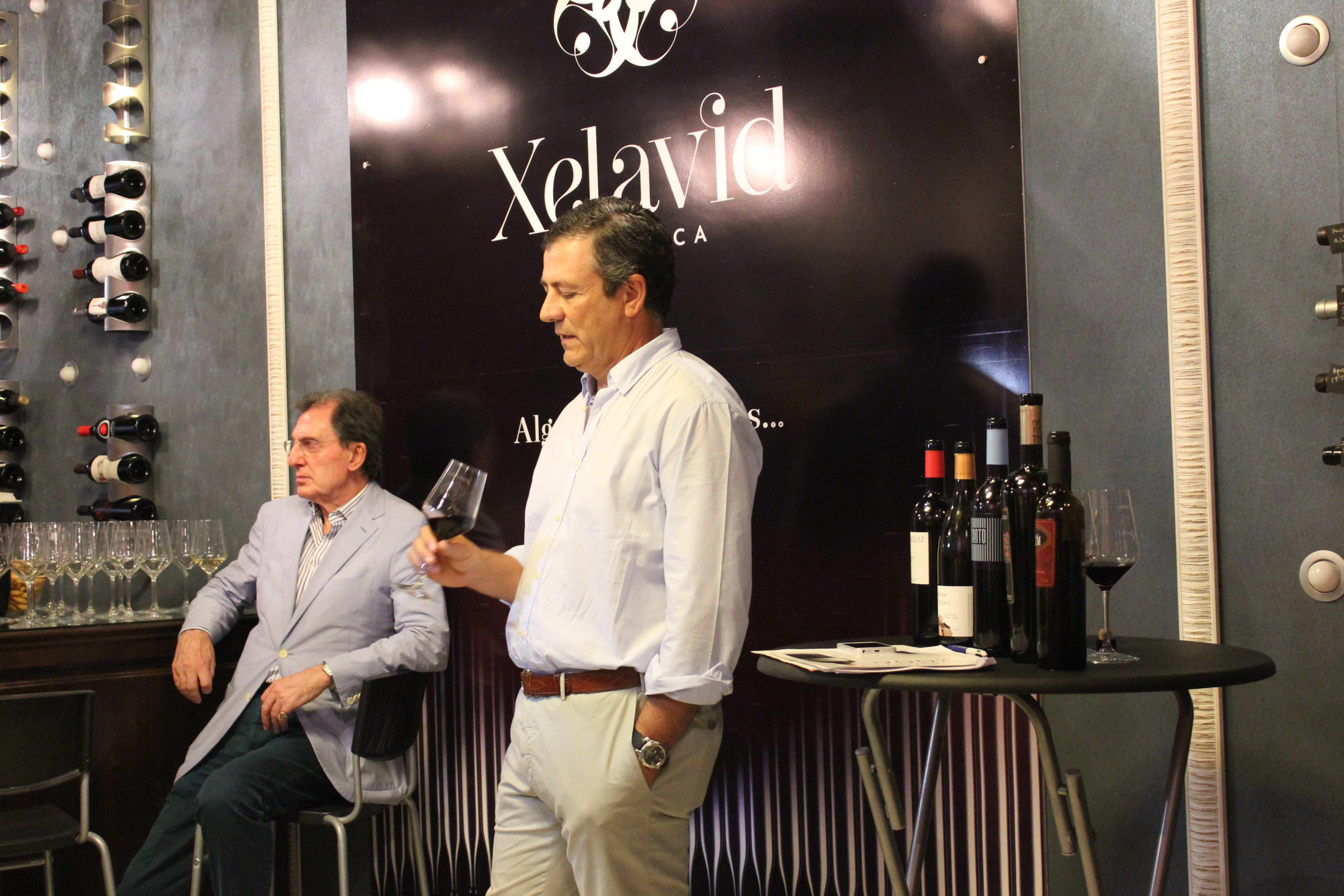 xeladavid estrena vinoteca
