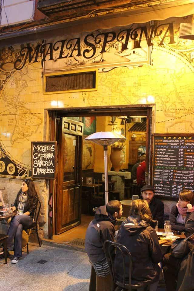 malaspina bares de madrid