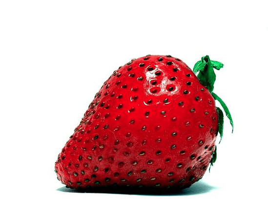 postre de fresas ligero