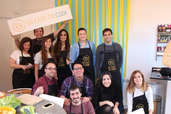 experiencia de cocina - Exploradores - Clase de cocina en Madrid