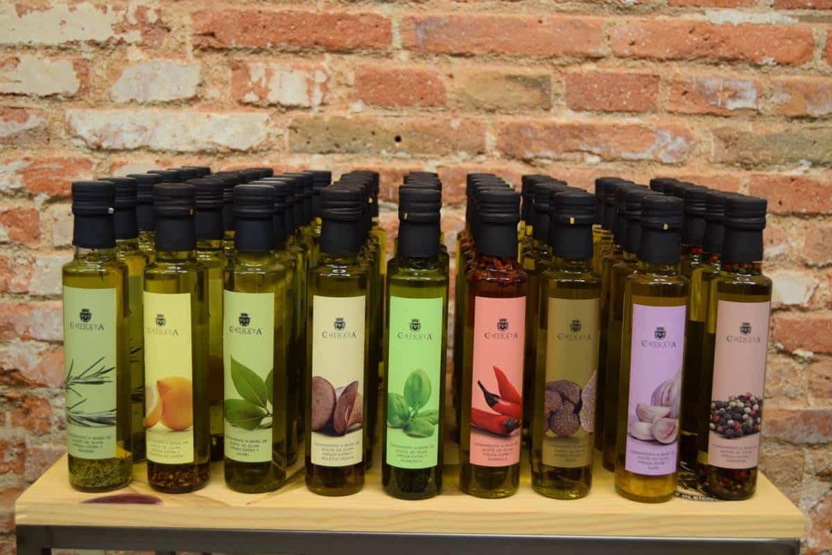 La Chinata - aceites aromatizados