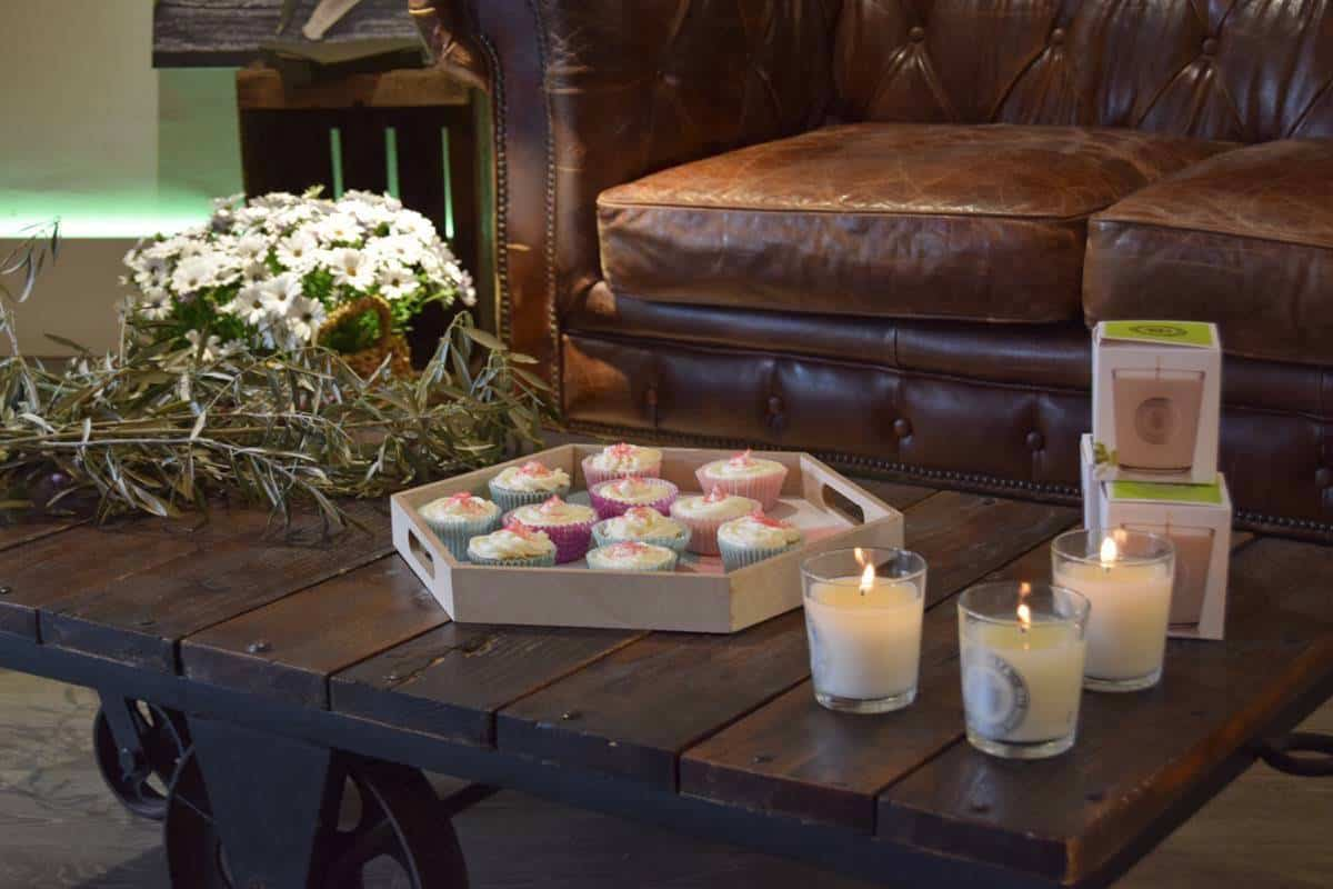 harina de aceitunas - La Chinata - magdalenas y velas 3