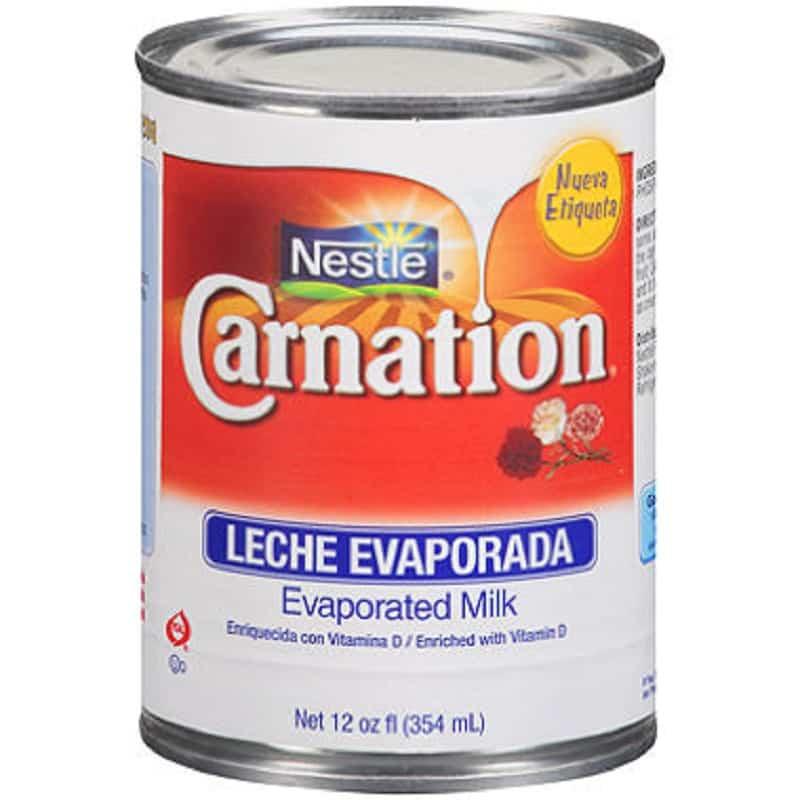 leche evaporada