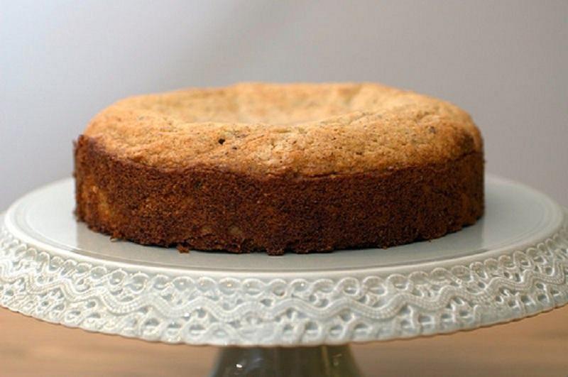 tarta de castañas