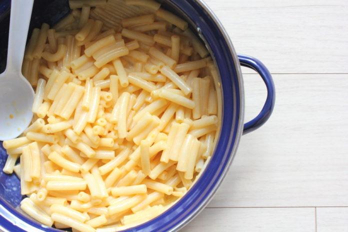 pasta con queso azul
