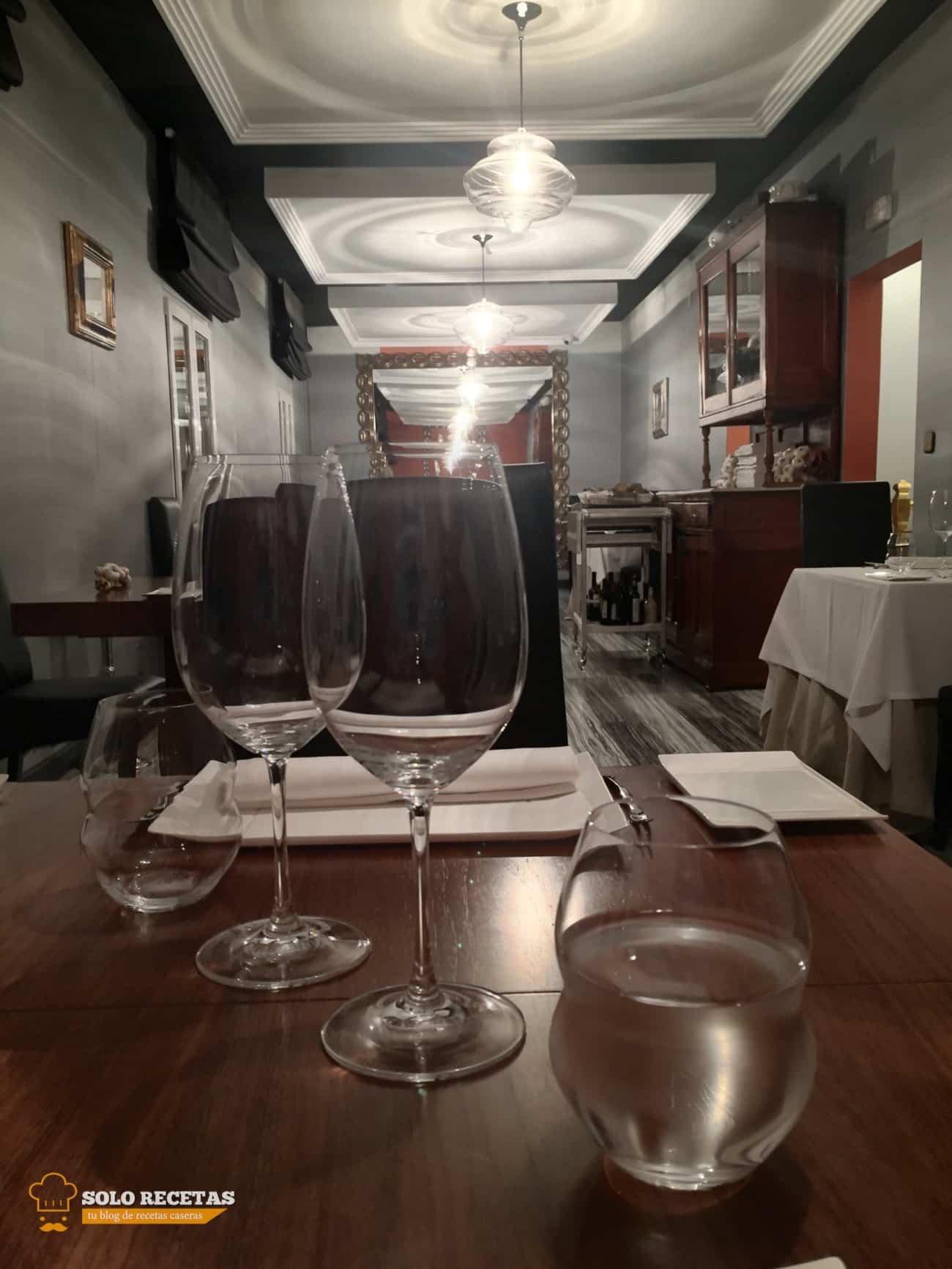 Vista de sala restaurante de El Bohio en Illescas