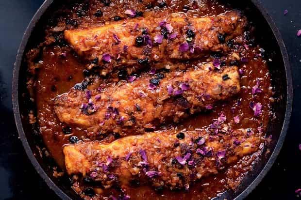 aderezos para pescado frito