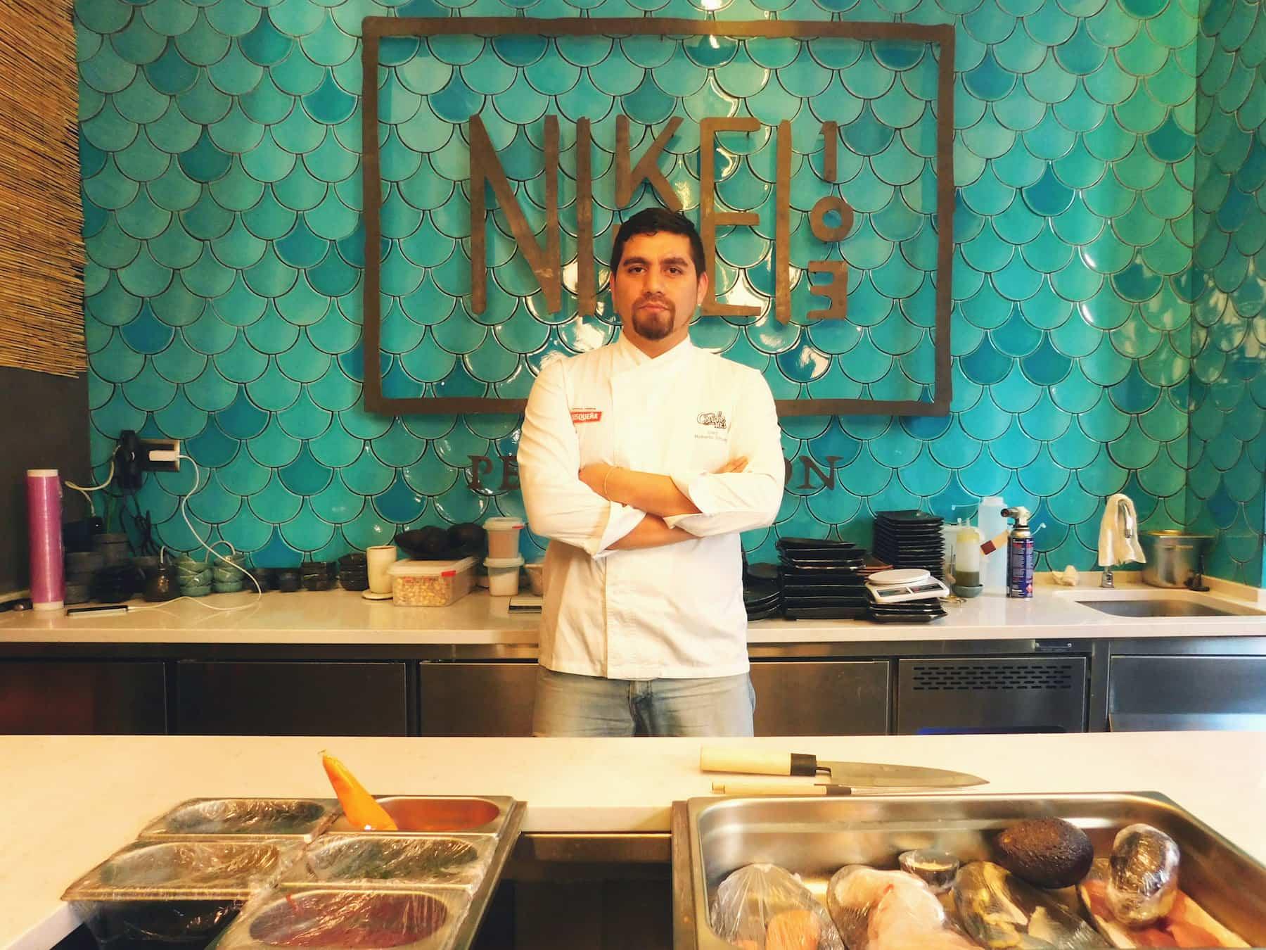 el chef Roberto Sihuay