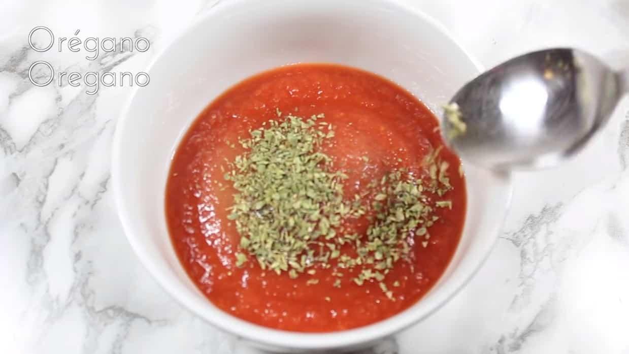 patatas al horno con repollo salsa de tomate