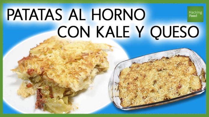 patatas con kale