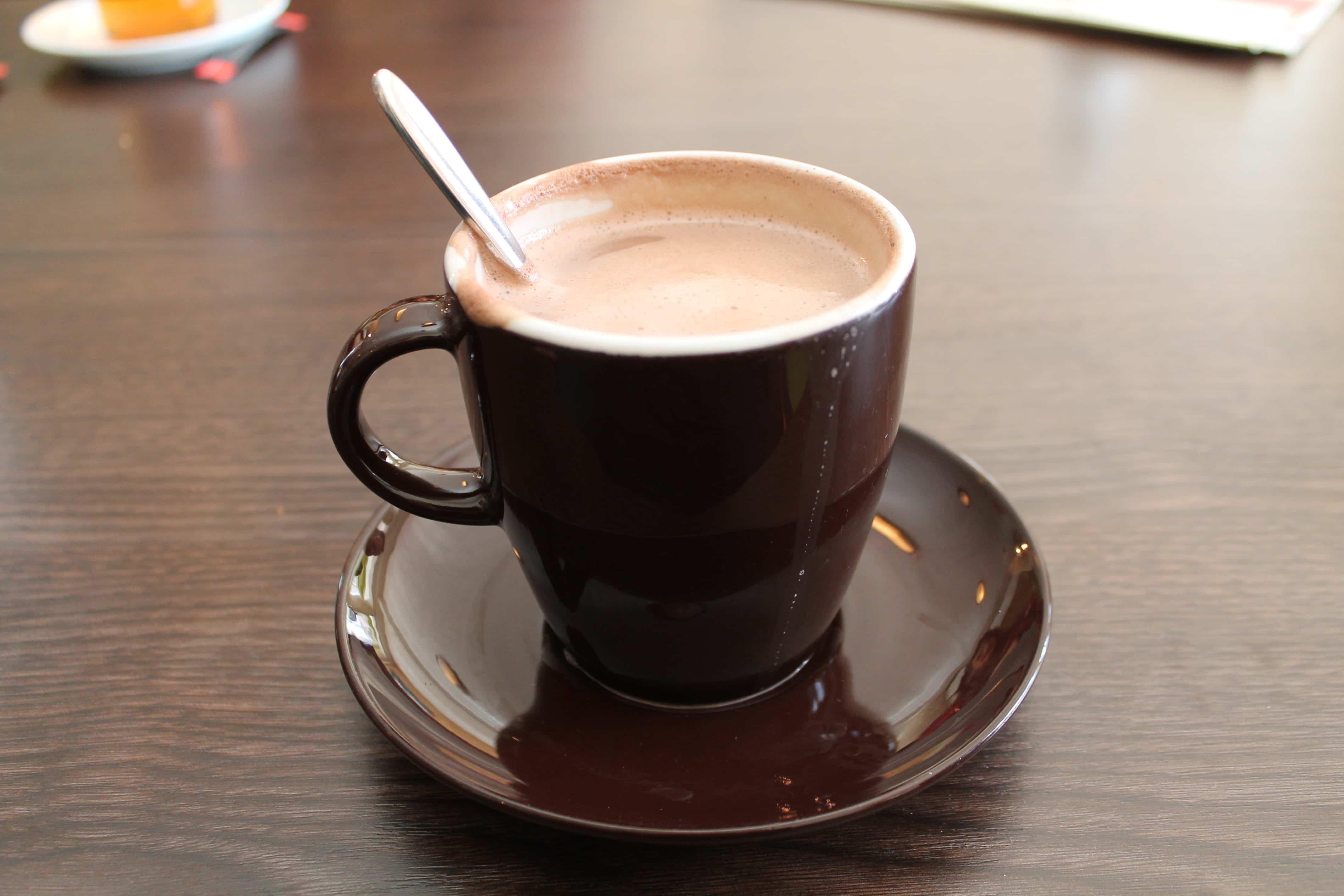 chocolate caliente ecuador