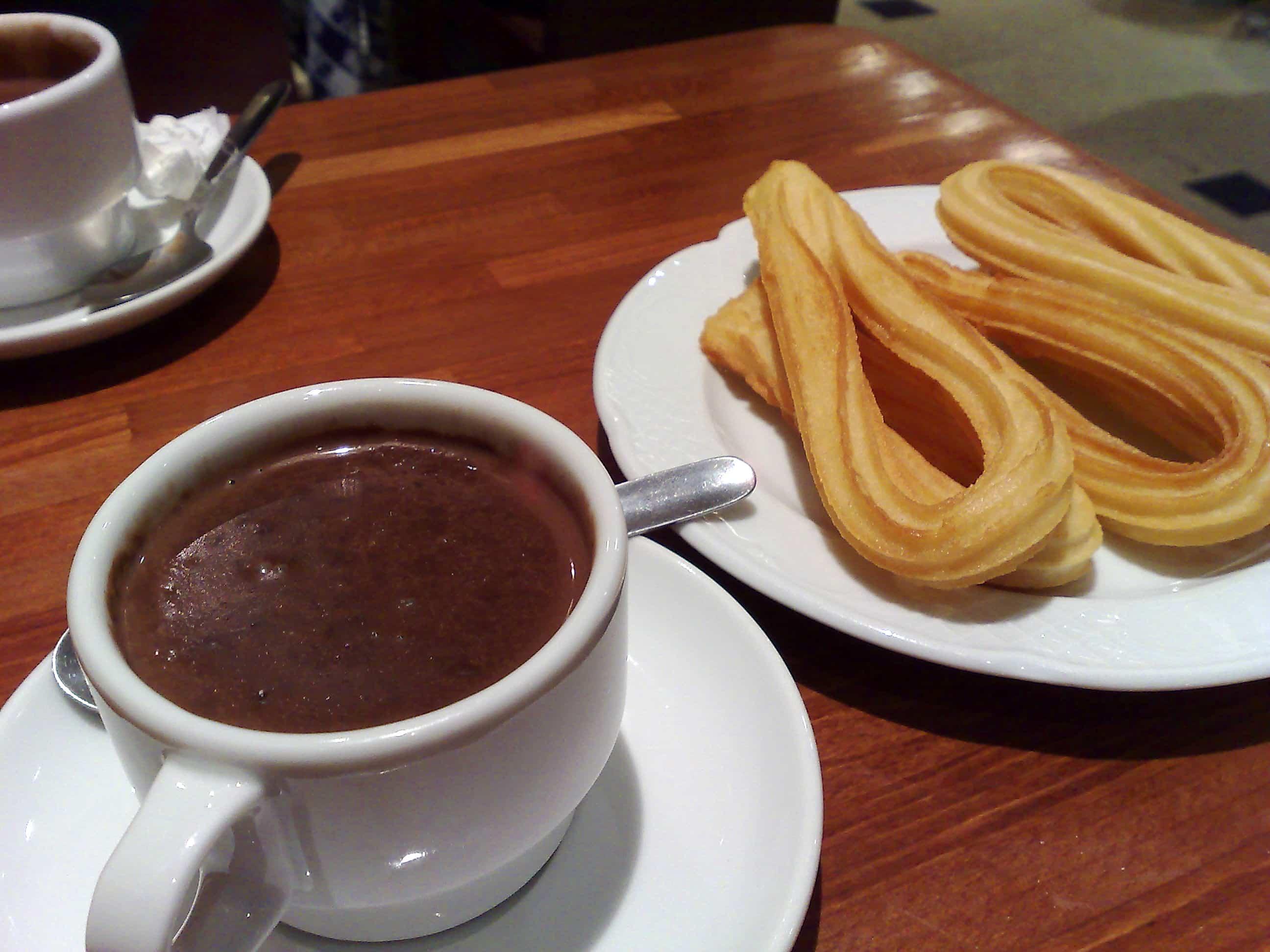 chocolate caliente espana