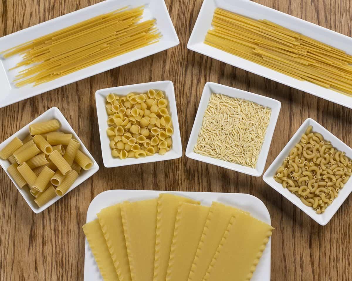 tipos de pastas italianas