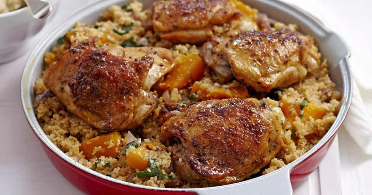 recetas a base de pollo