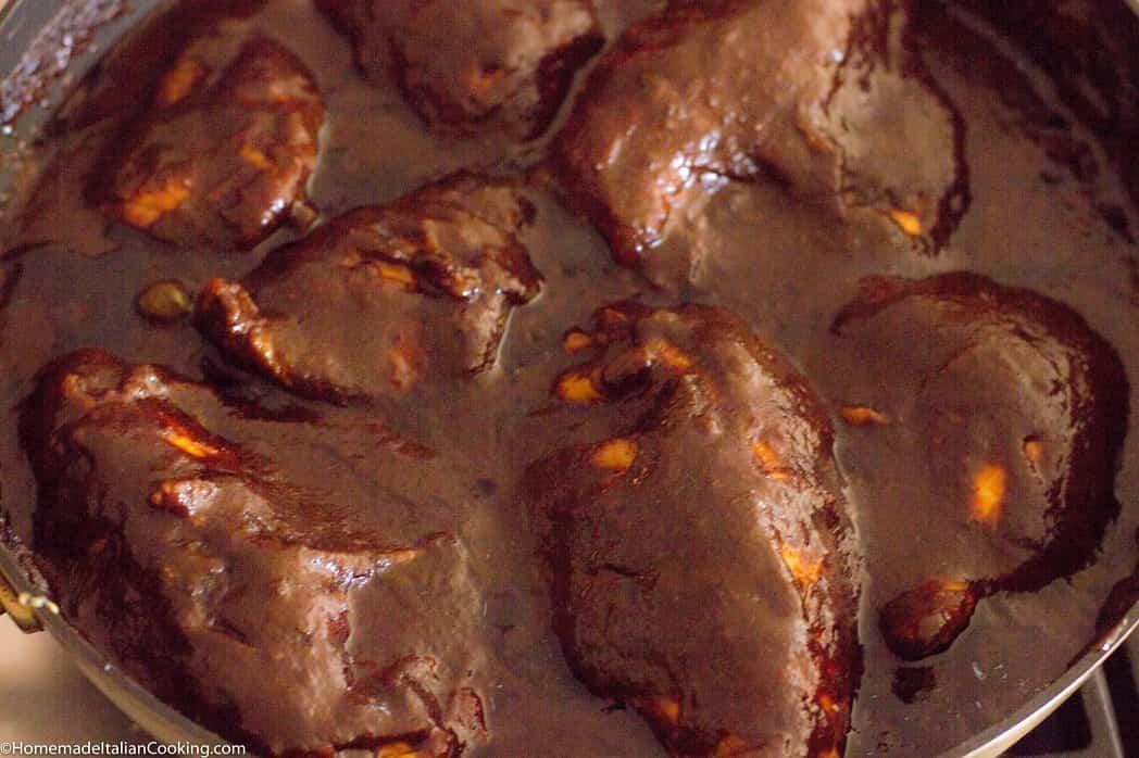 recetas saladas hechas con chocolate