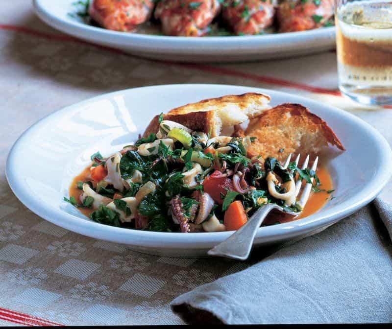 recetas con calamares