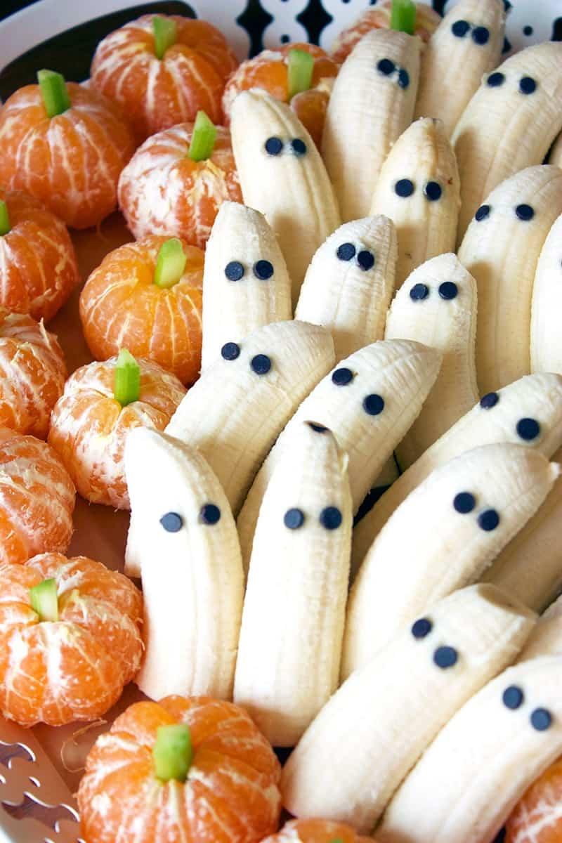 entrantes para Halloween