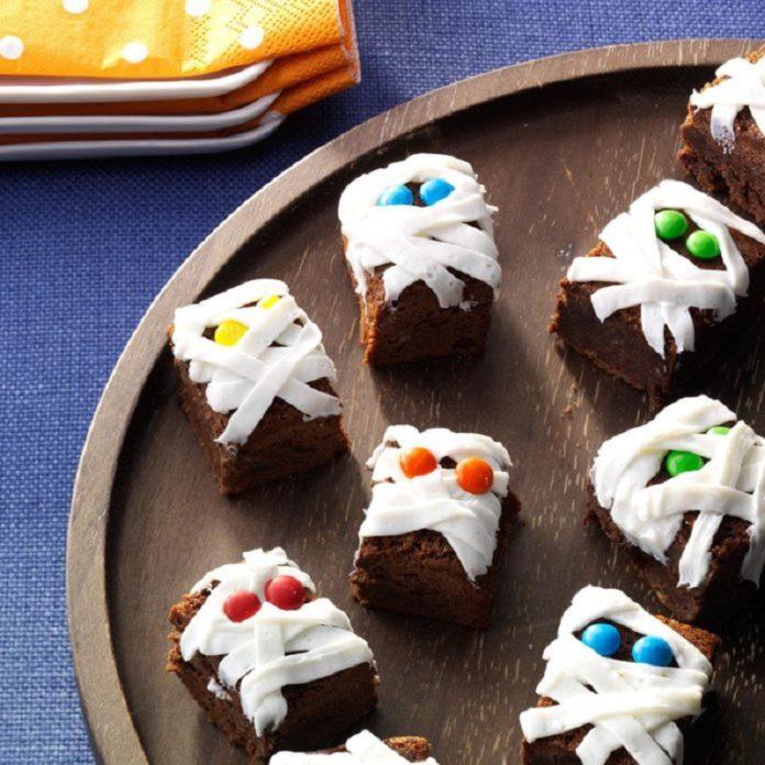menú de Halloween