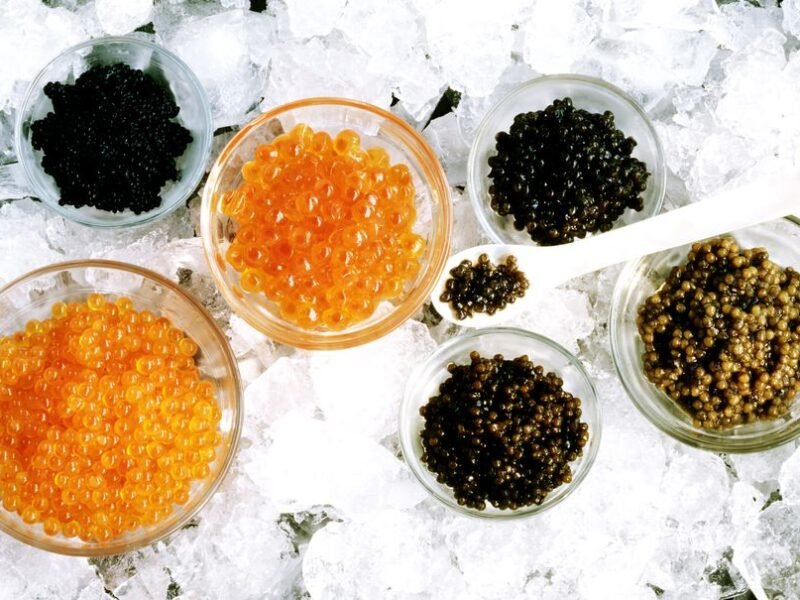 recetas con caviar
