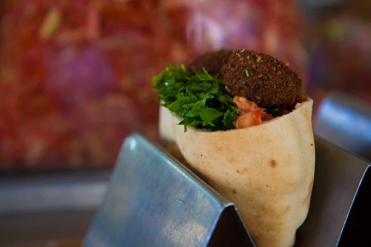 falafel comida israel