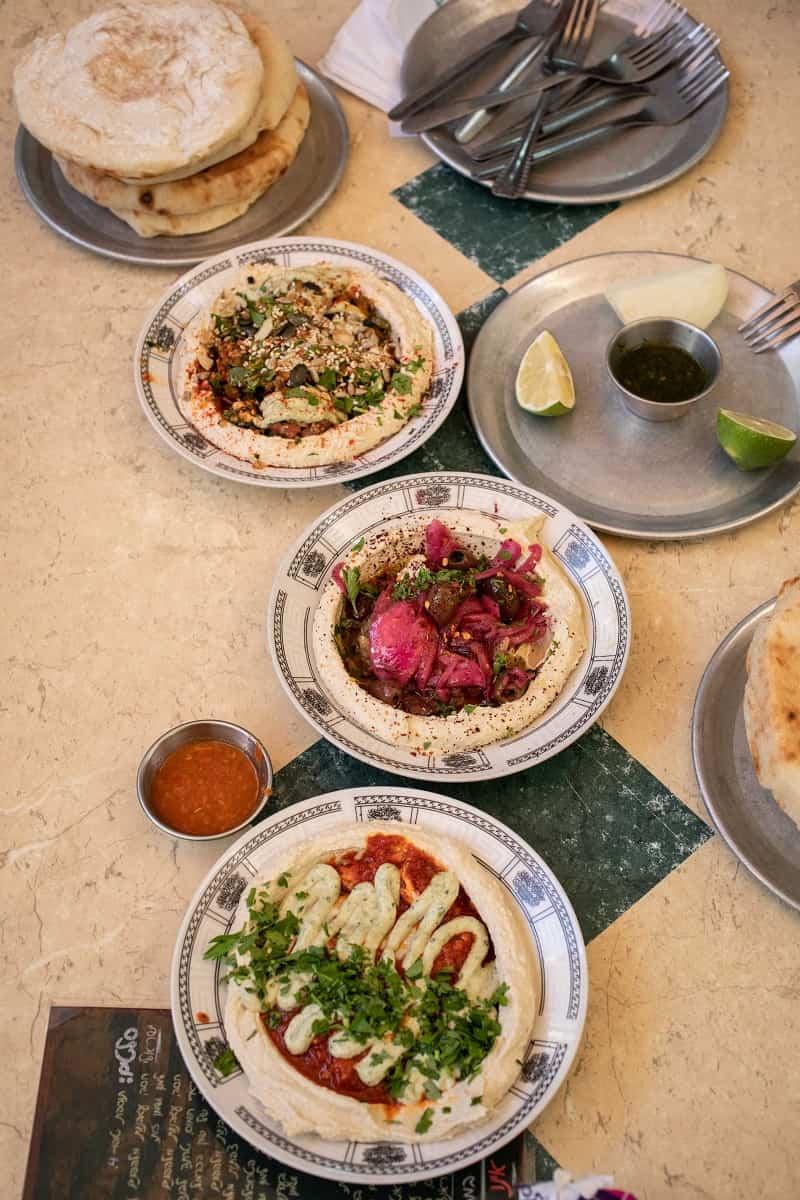humus comida israel